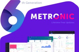 Metronic6.1.2后台管理模板 html5响应式bootstrap会员中心模板
