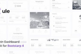Bootstrap 仪表盘管理模板